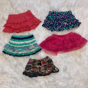 $5 Sale Lot of Girls Size 3M Skirts